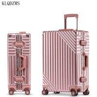 KLQDZMS 20''24''26''29 Inch herren Kreative Koffer Innovative Business frau Spinner Roll Gepäck Tragen Auf Rädern Gepäck