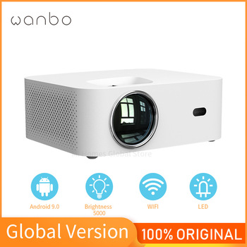 Global Version Wanbo X1 Projector Android 9.0 Support 1080P Mini LED Portable Projector 1280*720P Keystone Correction For Home 1