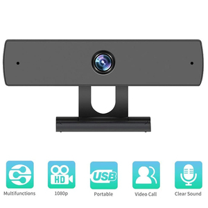 Full HD 1080 Webcam with Micro