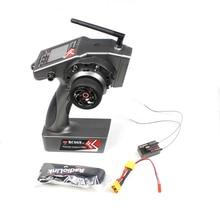 RadioLink transmisor de controlador de coche y barco con giroscopio R7FG, receptor interno, 2,4 M de distancia de tierra, TX RC6GS V2 600G 6CH RC