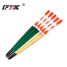 FTK 5Pcs/Lot Length 17.5cm-21.5cm Barguzinsky Fir Bobber Float 2G 3G 4G 5G Mix Color Fishing For Carp Tackle
