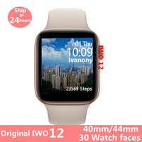 Original IWO 12 Watch 5 Series 5 1:1 Smart Watch IWO12 for Apple iPhone IOS Android ECG Heart Rate Monitor Clock VS IWO 11 IWO 8