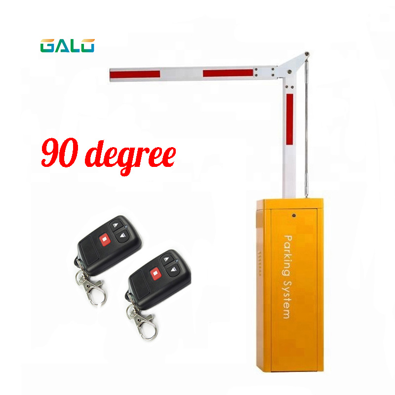 90 ° Folding Thinkpark Vehicle Boom Rail Door Operator For Parking System With MTBF Over 5 Million Times Parking Barrier   Arm