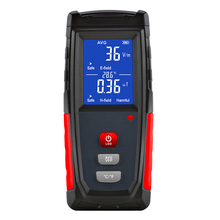 LCD Electromagnetic Field Radiation Detector Tester Emf Meter Rechargeable Handheld Portable Counter Emission Dosimeter Computer professional field intensity indictor of low frequency emf meter emf828 electromagnetic field tester 0 1 400mg 1 4000mg