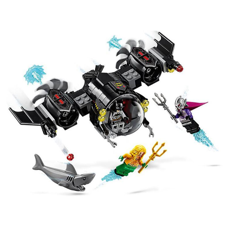 Bela 11233 Super hero 201pcs Batman VS Sea King Underwater battle Building Block Bricks Children's Toys Compatible With 76116