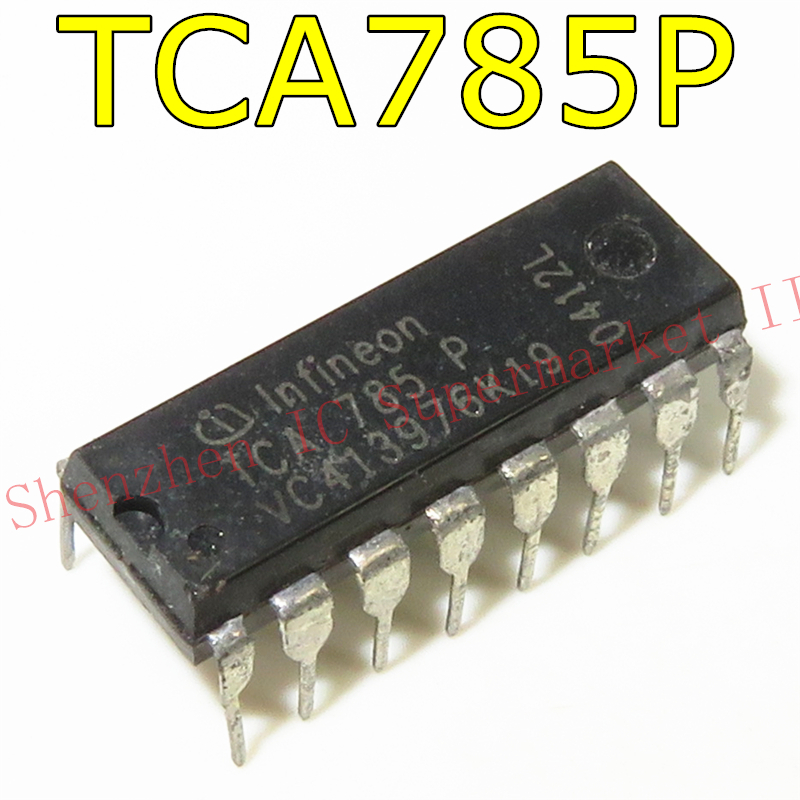 1pcs/lot TCA785P DIP16 TCA785 DIP TCA 785 P DIP-16 New And Original IC In Stock