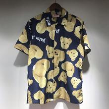 Palm Angels T Shirt Men Women 19ss Streetwear Summer Broken bear Digital direct printing 2019ss Kanye West