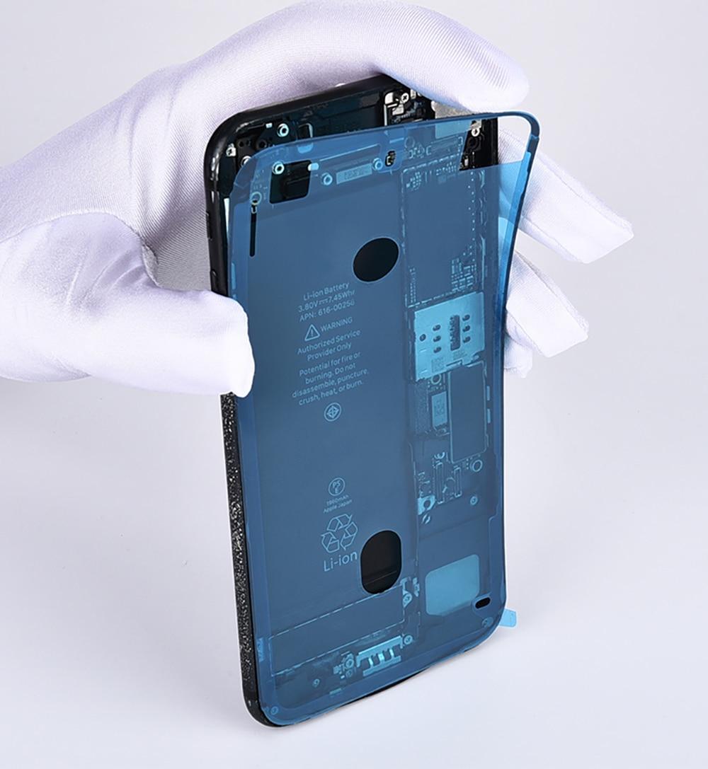 PINGZHENG 1pcs Waterproof Phone Sticker For iPhone 7 6s 8 Plus X XS MAX XR Sticker LCD Screen Tape Adhesive Glue Tape Repair Set (7)