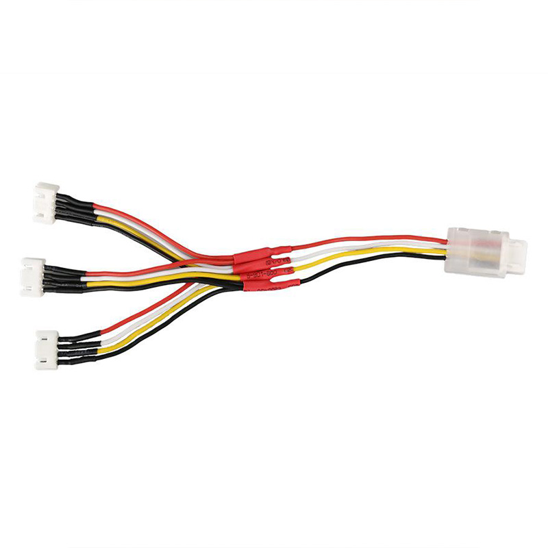 Hot 3C-3-In-1 Battery Charging Cable Balance Battery Charge Cord Line Adapter For Hubsan Zino H117S Quadcopter Drone Battery