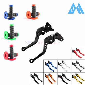 Brake Clutch Levers Short For Suzuki GSXR600 GSXR750 2006-2010 GSXR1000 2005 GSXR 600 750 1000 2007 2008 2009 Handlebar Grip image