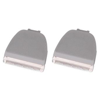 EAS-2 Uds cuchilla de repuesto para cortapelos para Codos CP-6800 KP-3000, gris