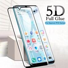 Закаленное стекло 5D с полным покрытием для Huawei P20 P30 Lite P40 Pro, защитная пленка для экрана Honor 8x9x10 9 20 Lite, защитное стекло