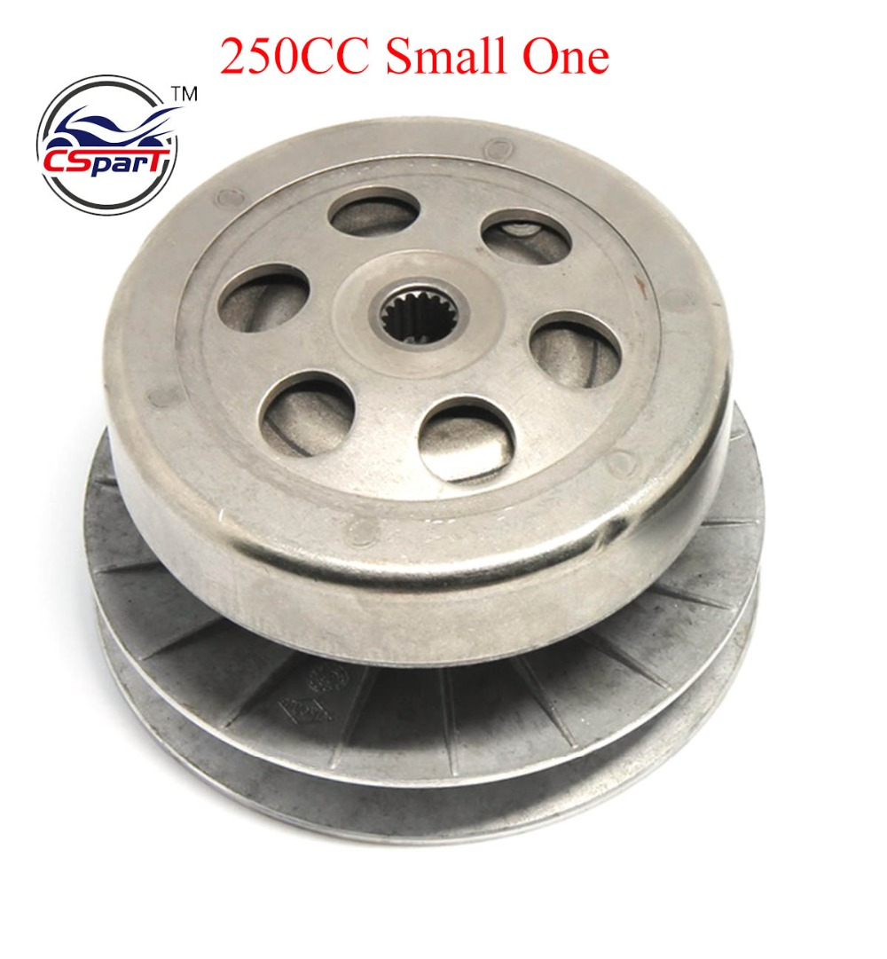 165MM 144MM 16T Clutch Assembly for Linhai Buyang YP Majesty VOG Talon 250 260 300 Roketa MC Scooter ATV Buggy title=