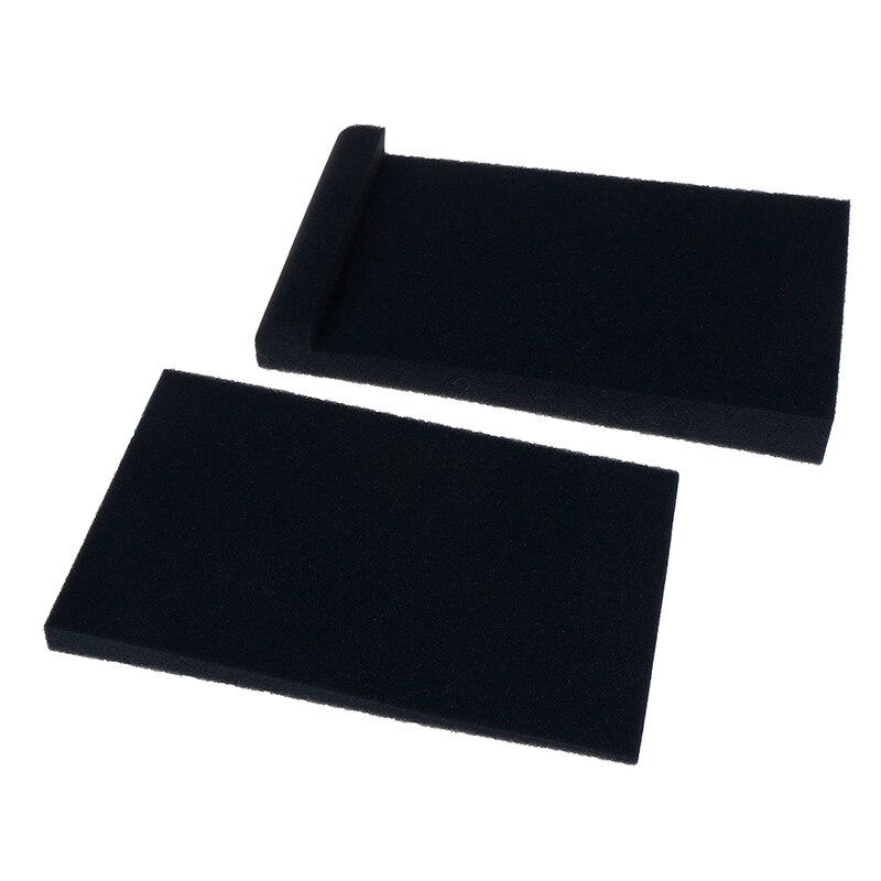 2 шт. губка для студийного монитора, пена для акустической изоляции, изоляторы
