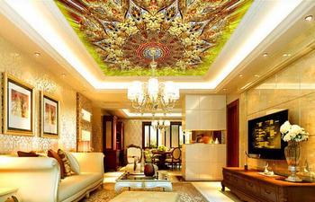 Fantasy abstract gorgeous 3D ceiling wallpaper Living room bedroom 3d wall murals wallpaper 8d ceiling