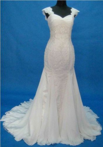 Free Shipping 2017 New Rhinestone And Beaded Appliques Made To Measure All Sizes - Beaded Lace Mermaid Bridal Wedding Gown