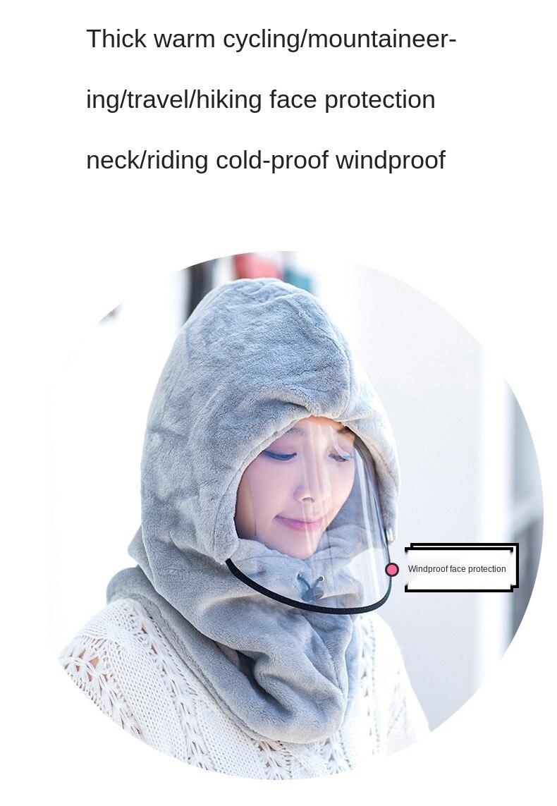 Warm Hat Windproof Head Hood