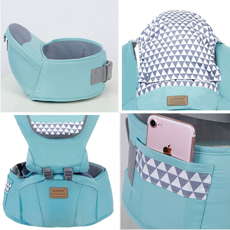 Baby carriers Backpacks belt Baby's back towel Four season Multi-functional Mesh and cloth style Baby sitting waist stool
