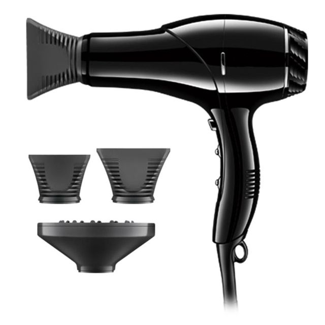 Pro Hair Blow Dryer Heat Blower with Collecting Nozzle Diffuser for Home Salon 1