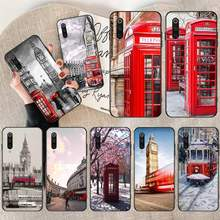 NBDRUICAI london bus england telephone DIY Printing Phone Case cover Shell For vivo v11 Pro 2019 X20 X9 Plus X23 x play 6 case(China)