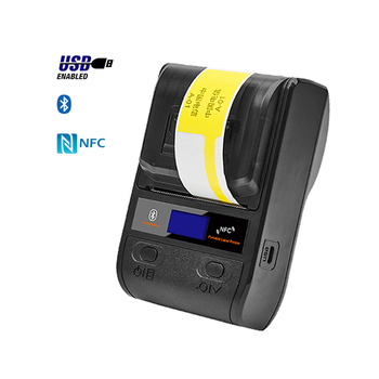 Portable Barcode Printer Bluetooth Thermal Label Printer Mobile Label Printer POS Barcode Maker 58/80mm For Android/iOS/Win/Mac original printhead for zebra kr403 305dpi thermal barcode label printer spare parts
