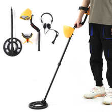 Gold Detector Underground with Earphone for Finding Silver Copper Scanner Systerm Smart-Operation