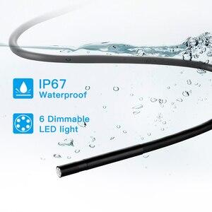 Image 4 - 5.5ミリメートル産業のwifi内視鏡F220 wifiボアスコープ検査カメラ内蔵6 led IP67防水ios/androidスマートフォン