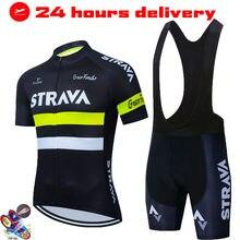 Новинка 2021, флуоресцентный желтый спортивный мужской велосипедный комплект, Мужская одежда для велоспорта, Джерси, мужской летний велосипе...