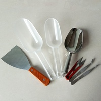 DIY Candle Tools Scoops Stainless Steel Shovel for Hold Paraffin Soy Wax Beeswax Soap Base Candle Raw Materials Holder