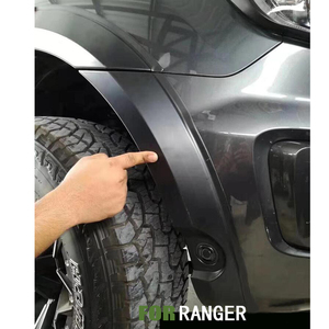 Брызговики колеса арки крыло вспышки для Ford Ranger Wildtrak T8 2019 2020 двойная кабина супер кабина матовый черный