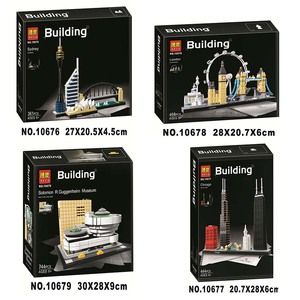 10678 Architecture Building Set London 21034 Big Ben Tower Bridge Model Building Block Bricks Compatible Toys Lepinlys