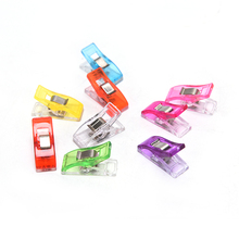 20 Pcs Colorful Multicolor Crafting Crocheting Knitting Safety Clip Sewing Tool Accessory Clips Plastic Clip DIY Crafts