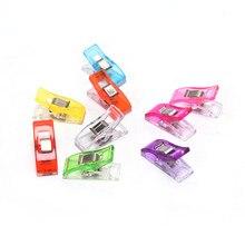 20 Pcs Bunte Mehrfarbige Crafting Häkeln Stricken Sicherheit Clip Nähen Werkzeug Zubehör Clips Kunststoff Clip DIY Handwerk