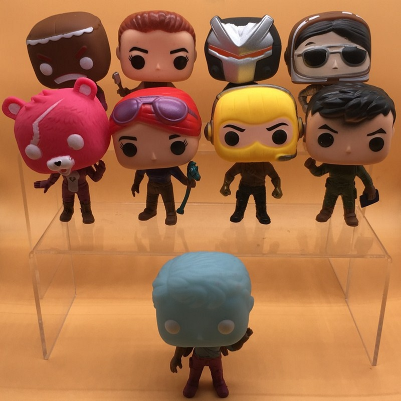 Image 2 - Funko POP 9pcs/lot Fortnit The Fortress night Vinyl Dolls Action Figure Collection Articles Toys Life Decoration Children GiftsAction & Toy Figures   -
