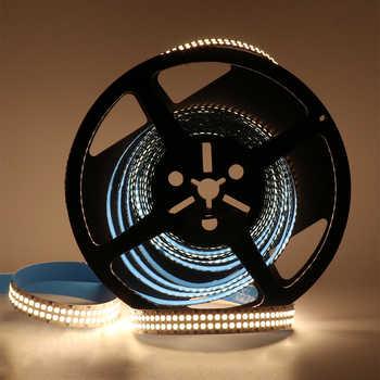 2835 Led Strip 480Leds/m String Lights SMD 12V 5M 2400Leds Double Row Flexible Led strip Tape Ribbon Project Ambilight Lights - DISCOUNT ITEM  29 OFF Lights & Lighting
