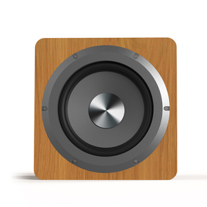 Image 4 - Haut parleur de basse Pure 6.5 pouces 100W grande puissance Subwoofer Home cinéma haut parleur pour ordinateur TV lecteur de musique bois haut parleurs noirs