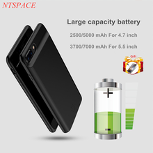 External Power Bank For iPhone 6 6S 7 8 Plus Magnetic Portable Battery Charger Extended Case