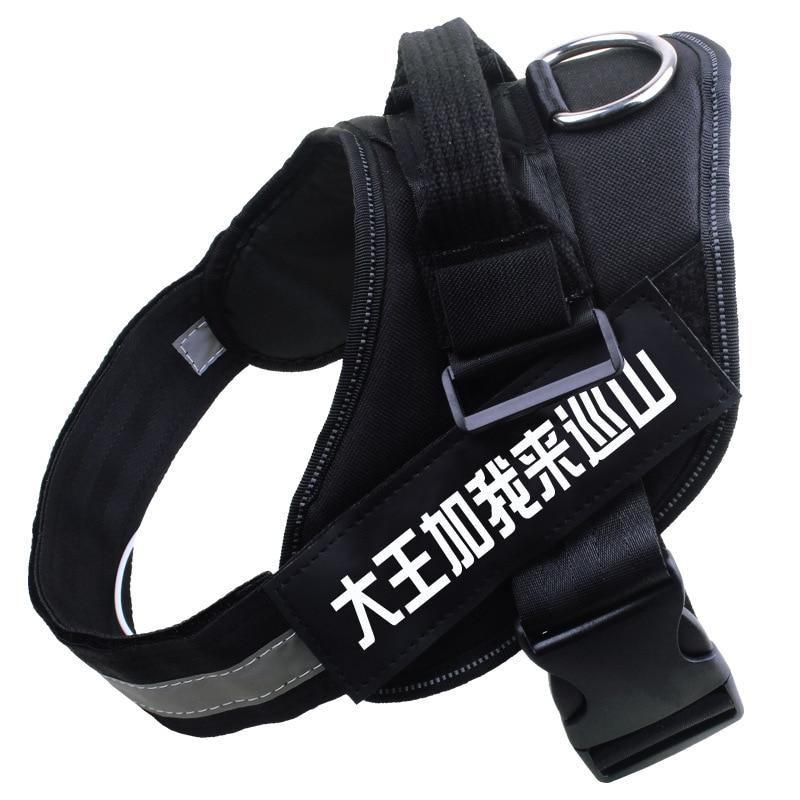 Golden Retriever Chest Rope Teddy Lado Gou Bei Dai Labrador Dog Chain Dog Dogs Not Telescopic Rope Back Horse Quan Xiang Quan Ge