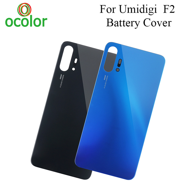 ocolor For Umidigi F2 Battery Cover Hard Bateria Protective Back Cover Housing Replacement For Umidigi F2 Battery Cover