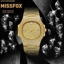 MISSFOX Watch For Men PP Nautilus 5711 Designer Brand Day Date Top Luxury Mens Wrist Watch Gold Plated Patek Watch Male Clock