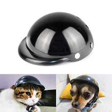 Funny Pet Hat Dog Helmet Motorcycle ABS Cap For Small Medium Dogs Cats French Bulldog Summer Accessories Birthday Party Costumes
