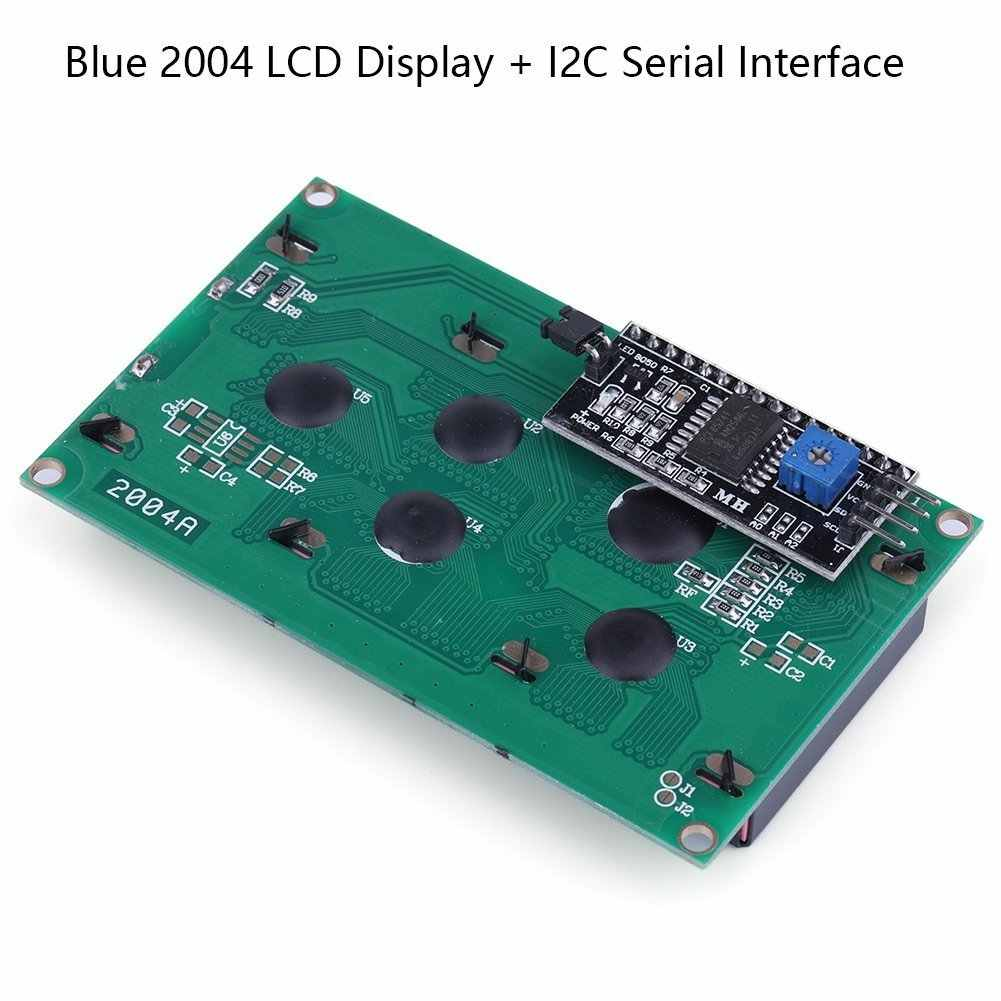 Pantalla Lcd 20x4 2004, 16x2, 1602 Lcd para Arduino pantalla azul + Iic I2c Módulo adaptador de interfaz para Arduino Uno Raspberry Pi