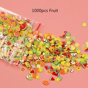 1000Pcs/pack Mixed Animal Fruit Nail Art Resin Cake Heart UV Resin Epoxy Mold Filler For Diy Jewelry Making Tools