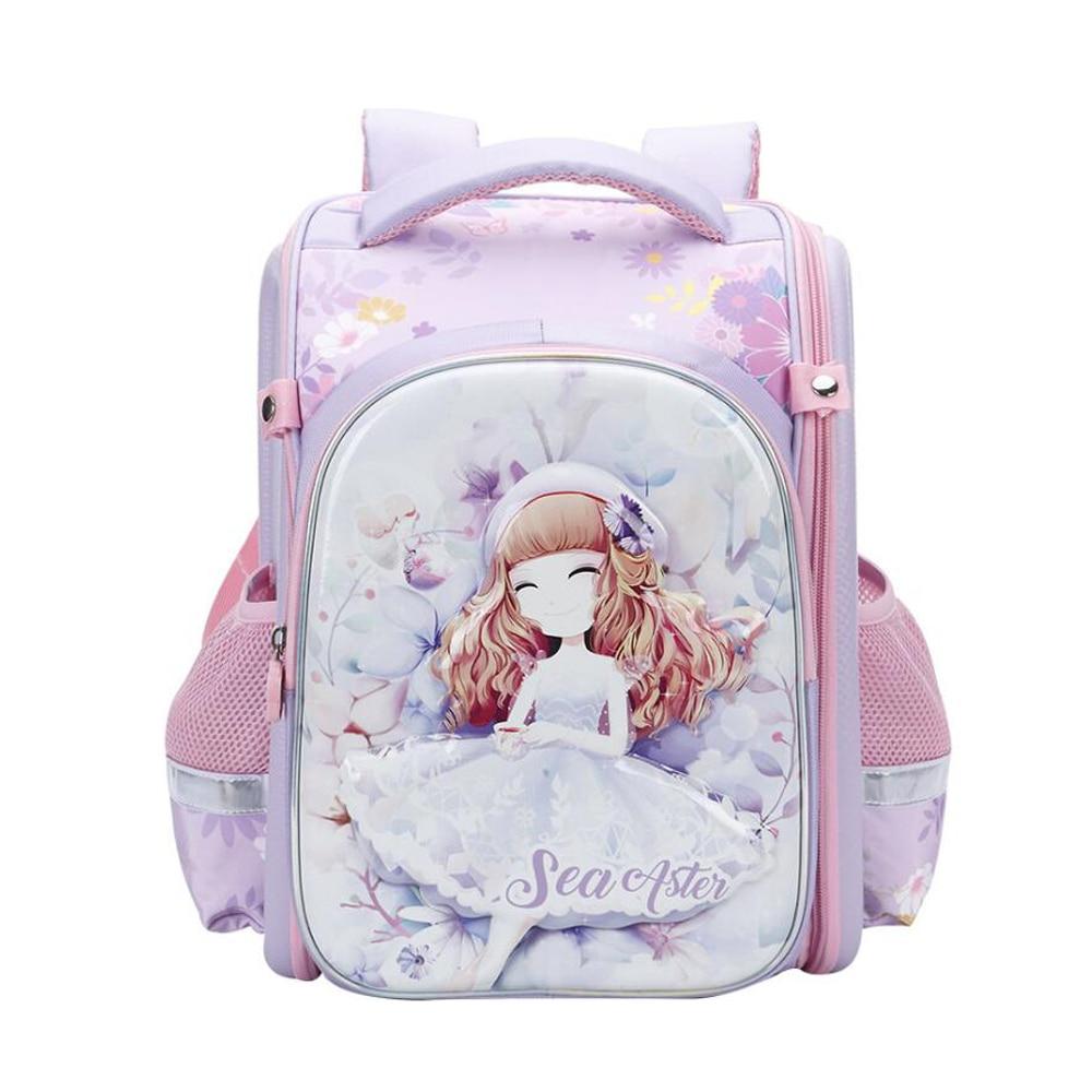 Waterproof Children School Bag For Teenage Girls Princess Backpacks Orthopedic Backpacks Kids Schoolbags Primary School Backpack