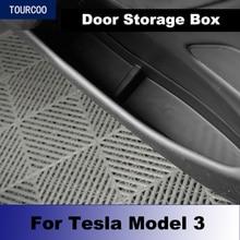 Per Tesla Model 3 scatola portaoggetti porta interna cestino accessori per la modifica dello Styling dellauto