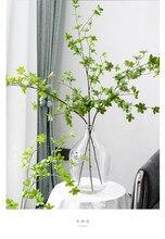 110cm falso ramo de folha verde japão enkianthus perulatus casa decoração nova