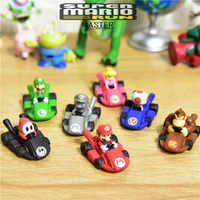 Figuras de acción de Mario, juguetes de colección suben de 2,5 cm, material para manualidades, 35 piezas