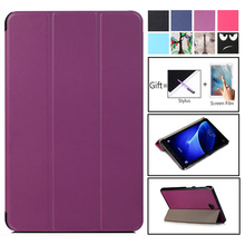 Slim Magnetic Folding Cover Case For Samsung Galaxy Tab A6 10.1 2016 SM-T580 SM-T585 for A