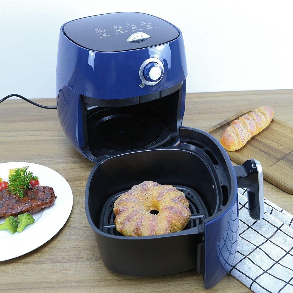 facil refeicao cozinhar circulacao quente mecanico temporizador oleo de ar fritadeira livre 04