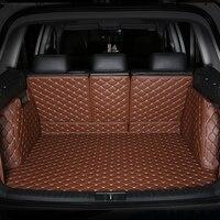 Alle Umgeben Durable Spezielle Auto Stamm Matten für Lexus CT200H ES250 ES330 ES300H ES350 GX460 GX470 Kein Geruch Wasserdicht Teppiche